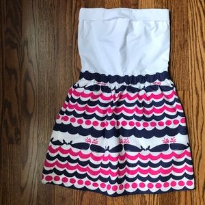 Lilly Pulitzer Strapless Dress - Size XS